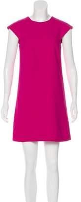 Saint Laurent Crepe Mini Dress w/ Tags
