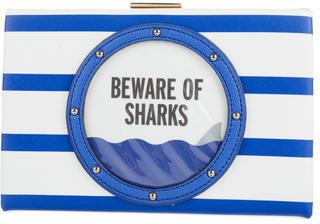 Kate SpadeKate Spade New York Emanuelle Beware of Shark Clutch
