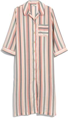 Madewell Flannel Bedtime Long Nightshirt