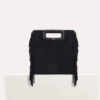 Maje M bag with suede fringes