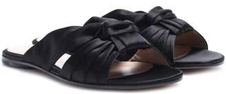 Gianvito Rossi Blair satin sandals