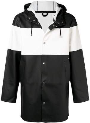 Stutterheim hooded rain jacket