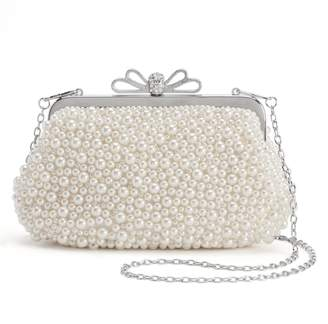 La Regale Lenore By Lenore by Beaded Bow Clutch