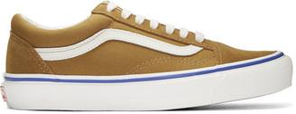 Vans Brown Suede OG Old Skool LX Sneakers $65 thestylecure.com