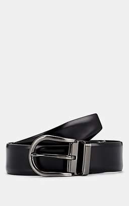 Barneys New York Men's Reversible Leather Belt - Black