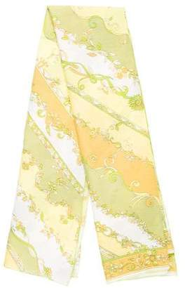 Emilio Pucci Floral Woven Scarf