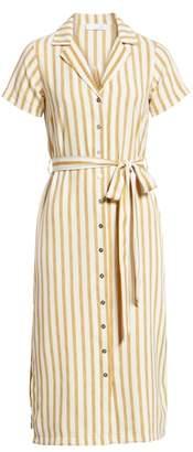 Ten Sixty Sherman Stripe Button Up Shirtdress