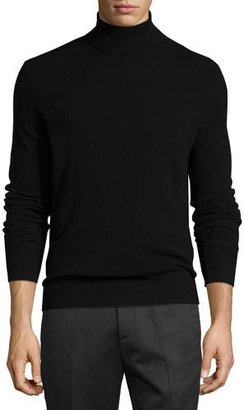 Theory Donners Cashmere Turtleneck Sweater, Black $325 thestylecure.com