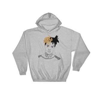 Gents Babes & XXXTentacion Hoodie Sweater (Unisex) (3XL)
