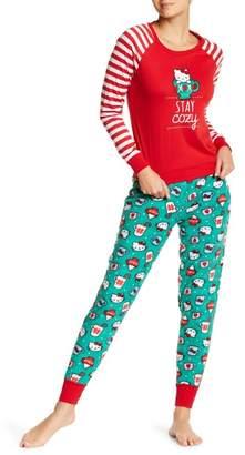 Hello Kitty Stay Cozy 2-Piece Pajama Set