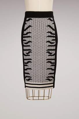 04ded8acdc Kenzo Wool Knee-length Skirt