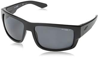Arnette Men's Grifter Polarized Rectangular Sunglasses