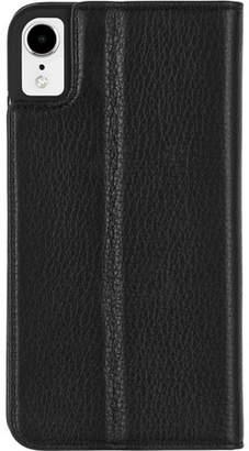 Case-Mate iPhone XR Wallet Folio Black Case