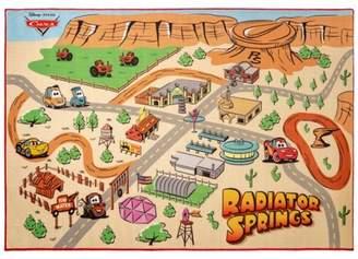 "Cars 4'6""X6'6"" Radiator Play Rug"