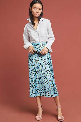 Hutch Eclectic Leopard Midi Skirt