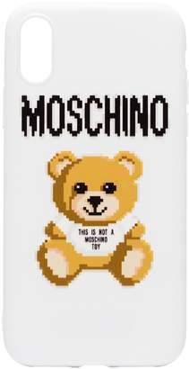 Moschino 8-bit Teddy iPhone X case