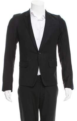Helmut Lang Wool One-Button Blazer