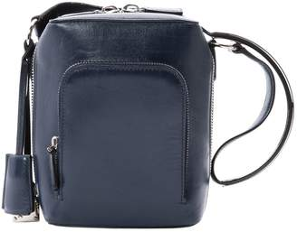 Salvatore Ferragamo Navy Leather Handbag