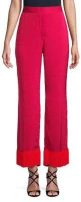 Stella McCartney Fringed Wide-Leg Pants