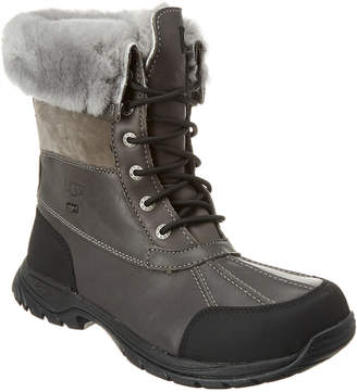 UGG Butte Suede & Leather Boot