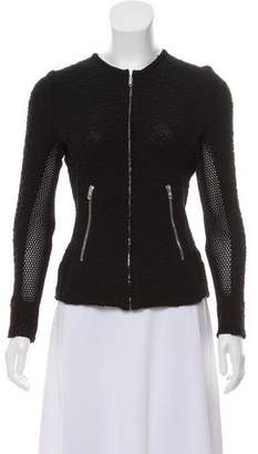 IRO Collarless Knit Jacket