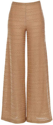 M Missoni Wide Leg Pants with Cotton
