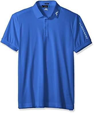 J. Lindeberg Men's Tour Tech Tx Jersey Polo Shirt