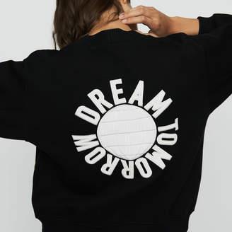 Maje Sweatshirt with back embroidery