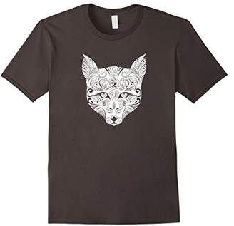 Fancy FOX drawing design t-shirt