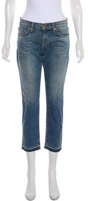 J Brand Mid-Rise Cropped Jeans w/ Tags