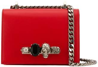 Alexander McQueen small jewelled satchel bag
