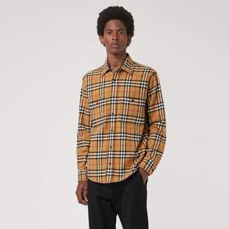Burberry Vintage Check Cotton Flannel Shirt