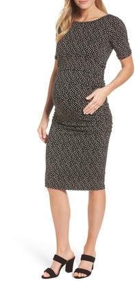 Isabella Oliver Danni Ruched Maternity Dress