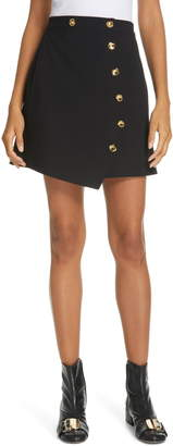 Tibi Anson Stretch Miniskirt