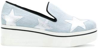 Stella McCartney Binx star loafers