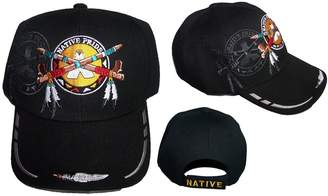 Native Feather Pride Embroidered Baseball Caps Hats 1Pc ( ACapNp602)