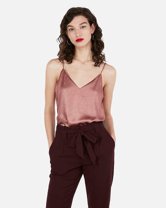 Express Shimmer Downtown Cami