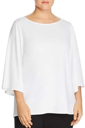 Eileen Fisher Plus Slit Sleeve Top