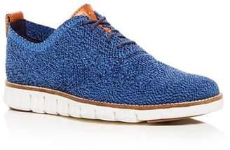 Cole Haan Men's Zerogrand Stitchlite Knit Plain Toe Oxfords