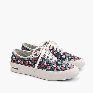 SeaVees for J.Crew Legend sneakers in Liberty poppy floral