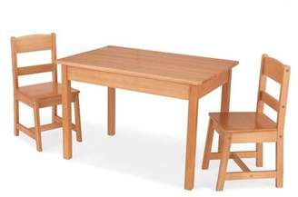 Kid Kraft Kids 3 Piece Wood Table & Chair Set