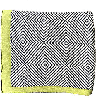 Pink Lemonade Piazza Luxury Cotton Throw Blanket