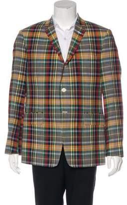 Thom Browne Plaid Sport Coat