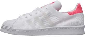 92ba087c761 adidas Womens Superstar 80s Primeknit Trainers Footwear White Footwear White Solar  Pink