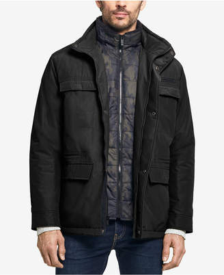 Weatherproof Men's Four-Pocket Jacket With Camo Bib, Created for Macy's