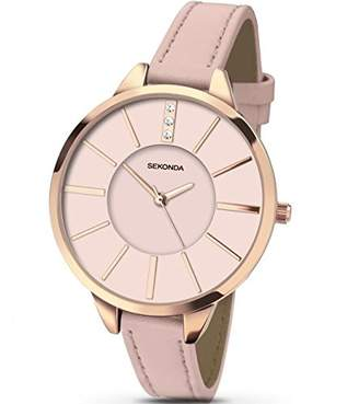 Sekonda Women's Analogue Quartz Watch with PU Strap 2305.27