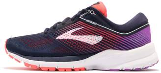 Brooks Women's Launch 5 Running Shoe (BRK-120266 1B 3937790 9 PNK/BLU/WHT)