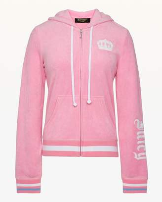Juicy Couture Embroidered Microterry Robertson Jacket