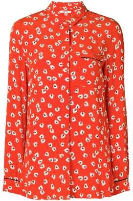 Ganni floral blouse