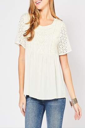 Entro Crochet Lace Top
